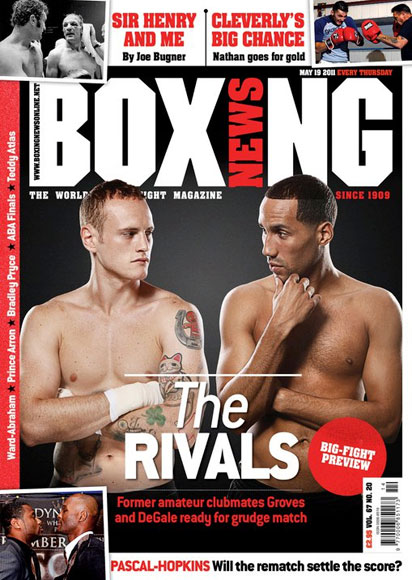 Boxing News Degale and Groves