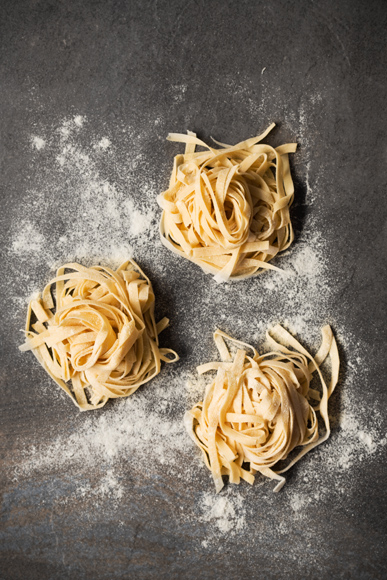 Home Made Pasta made by Katie Marshall. Styled by Stefan Johnson for Food Photography Shoot