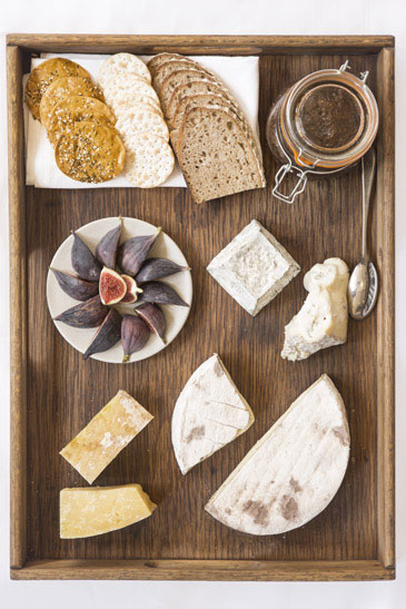 Food Photography Cheese Board