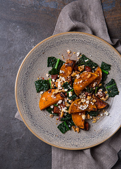 Butternut Squash and Cavolo Nero