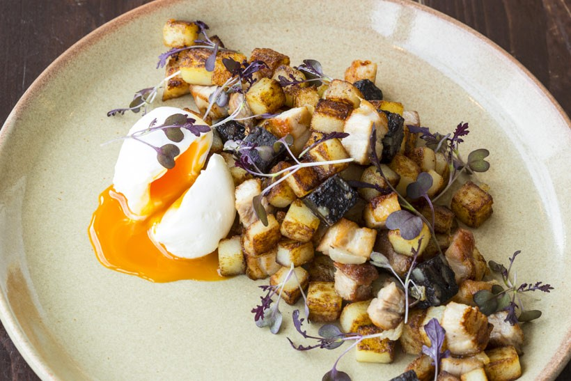 Potato-Hash-and-Poached-Egg